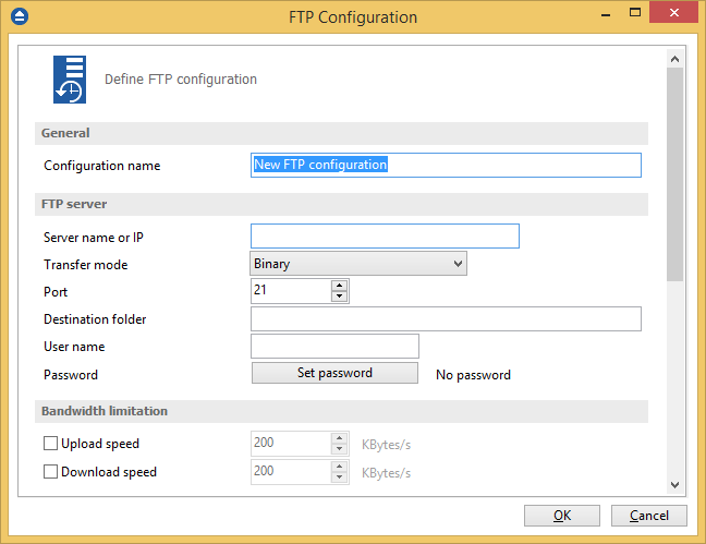 FTP Options