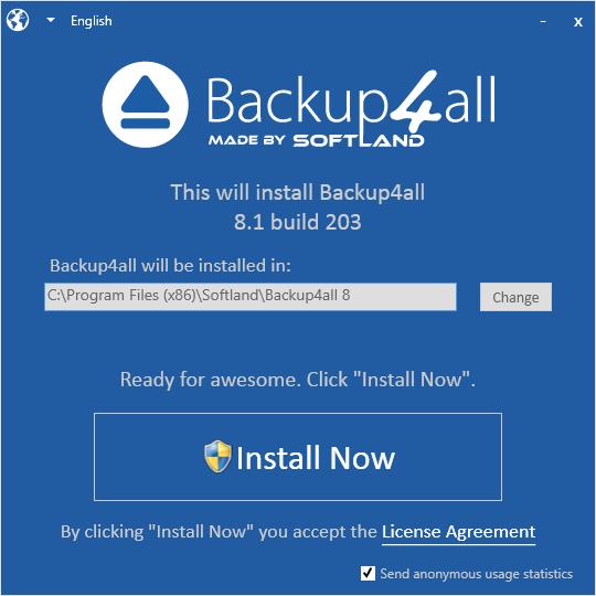 install-backup4all