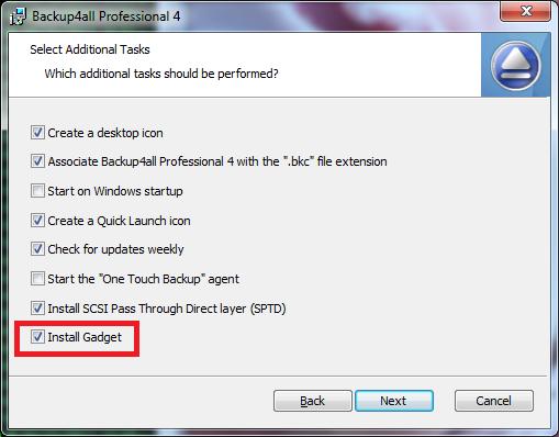 install gadget