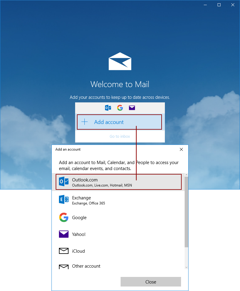 How to back up Outlook com (former Hotmail) emails?