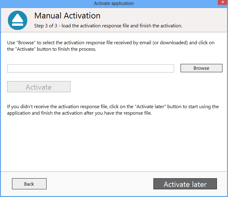 Backup4all 5 - Manual Activation 5