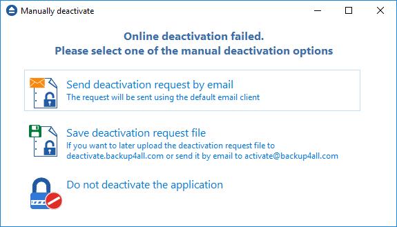Manual Deactivation 1