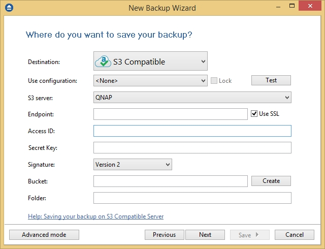 How to backup your data to QNAP