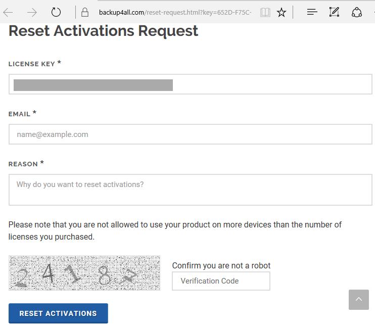 Reset Activations - 2