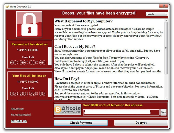 wannacry ransomware cyberattack how to